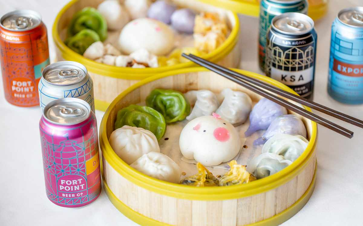 Fort Point Dim Sum Beer Brunch (At Home)